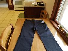 H&M Slim Fit Stretch Mens Casual Pants Black 29/31 NWT! FREE SHIPPING