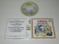 LORIOT/LORIOTS PETER UND DER WOLF,LE CARNAVAL DE TIEREDG 439 648-2 CD ALBUM