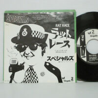 "THE SPECIALS - RAT RACE 7"" EP 1980 JAPAN ONLY COVER 2Tone Terry Hall MADNESS LP"