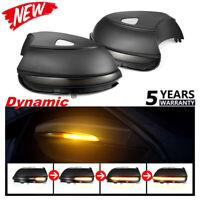 Dynamic Mirror Indicator LED Turn Signal Light For VW Scirocco EOS Passat B7 CC@