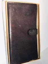 Vintage Wallet by Stanley Noymer Men's Billfold Leather Woodland Leather England