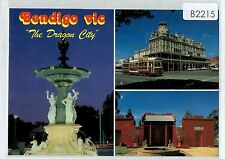 B2215cgt Australia V Bendigo Dragon City Multiview postcard