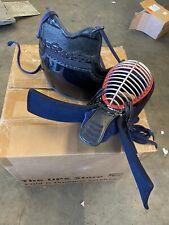 Kendo Bogu Set Japanese Martial Arts Armor Used Helmet And Chest Armor