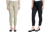 NEW G.H. Bass Women's Skinny Ankle Crop Pant