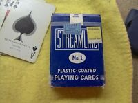 Vintage Playing Card Deck Unsealed, Good Condition, 1966 Tax Stamp