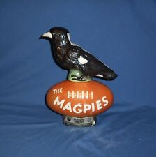 RARE 1977 Vintage Jim Beam Decanter MAGPIES COLLINGWOOD PIES Australian Football