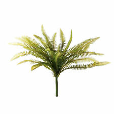 Forest Fern Green 27 Leaf Bush Artificial 40cm