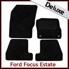 FORD Focus Estate MK3 2011 in poi adattati LUSSO 1300g Tappeti Tappetini Auto Nero