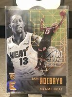 CRISP 🔥 HOT🔥 2017-18 Panini Essentials, Bam Adebayo Rookie Card# 171 Heat