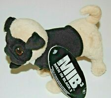Men In Black 3 6-Inch Talking Plush Action Figure - Frank The Pug NEW! FREE S/H