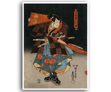 "Japanese Art Woodblock Print Reproduction Asian Home Decor Poster 12x16"" J13"