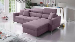 Brand new corner sofa bed with storage Veneto I