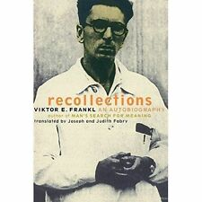 Recollections: An Autobiography, Good Condition Book, Frankl, ., ISBN 9780738203