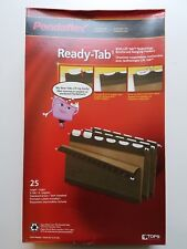 Pendaflex Ready-Tab Hanging Folders - Legal 25 pk Reinforced- Green - NEW! 42591