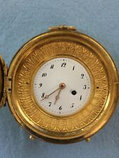 1750's French Verge Fusee Table Pocket Watch by Francois Baillon of Paris No 815
