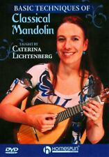 Basic Techniques Of Classical Mandolin - Caterina Lichtenberg [Homespun]