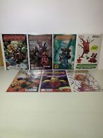 Guardians of the Galaxy Variant Lot 7 Comic Lot Scottie Young Deadpool