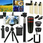 All in 1 Accessories Phone Camera Lens Fish Eye Mini Tripod Travel Selfie Kit