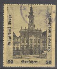 Austria local revenue Steyr city hall Stempelmarken