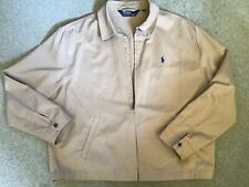 Ralph Lauren Polo Mens Zipped Bomber Jacket