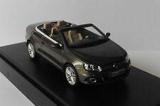 VW VOLKSWAGEN EOS CABRIOLET 2012 BROWN METAL KYOSHO 1Q1099300B9A 1/43 MARROON