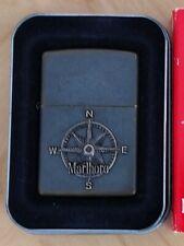 Rare Vintage Japan Zippo Lighter - Marlboro Adventure Compass - 1997