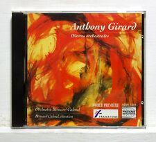 ANTHONY GIRARD orchestral works CHACHEREAU GIRARD PENNANGUER - PAVANE CD NM