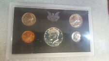 1970 US Mint 5 Coin Proof Set with 40% Silver Kennedy Half as Issued ~