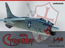 Eduard 1:48 F-8E Crusader EDK11110 EDIZIONE LIMITATA SCATOLA DANNEGGIATA