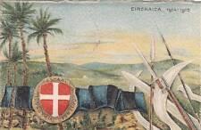 A7152) XI BATTAGLIONE ASCARI ERITREI, CIRENAICA 1914/1915. VIAGGIATA.