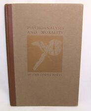John Cowper Powys PSYCHOANALYSIS AND MORALITY First Edition Grabhorn Press Ltd!
