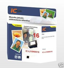 Cartucho de Tinta Negra Compatible Con LEXMARK 16 10N0016 X72 X74 X75 i3 Z13 Z24