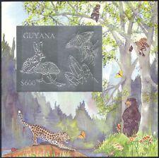 Guyana 1993 Conejo/Mariposa/minerales/insectos/animales/Hongos/naturaleza m/s (n41324)