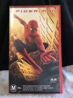 Spider-man Retro Collectable Original VHS Movie Tape family M15+