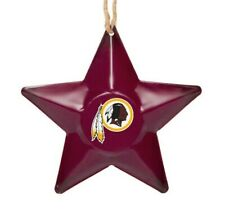 Washington Redskins Christmas Tree Holiday Ornament New Team Logo Metal 3D Star