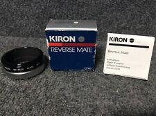 KIRON reverse mate CANON C/FD 55mm Custom Mount Clean In Box