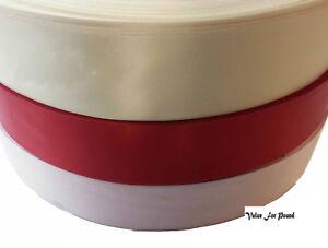 "Ribbon 38mm (1 1/2"" inch) Dressmaking  hair bow Satin Silk Present Gift Craft"