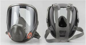 6800 Full Face Reusable Respirator Size Medium Full Face Gas Mask