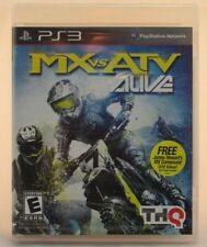 MX vs. ATV Alive (Sony PlayStation 3, 2011) New
