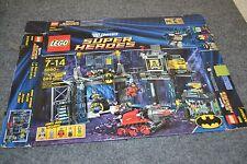 Lego 6860 Batcave box only Batman - AETN
