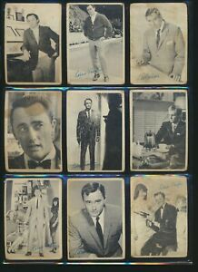 Non-Sports Lot of 36 Cards w/Monkees, Civil War, Man from U.N.C.L.E., MORE (LOU)