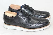 Mens Cole Haan Long LunarGrand Wingtip Oxford Shoe - Black 8M - C12007 (X3)