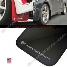 RALLY ARMOR UR MUD FLAPS FOR 2012-2017 VELOSTER TURBO & NON-TURBO BLACK / GREY