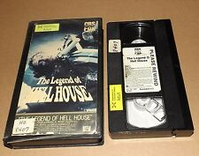 The Legend of Hell House vhs video Pamela Franklin Roddy McDowall