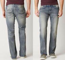BKE Jake Boot Stretch Jean Light Wash Men's Size 34XXL Faux Flap Pocket HW7524