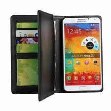 Samsung Galaxy Note 3 N9000 Stand Flip Wallet Purse Card Slot Leather Case Cover