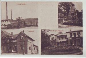Lachendorf   Papierfabrik Bahnhof Gedenkstein Celle