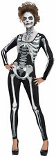 Amscan Womens Catsuit Black & Bone Costume One Size