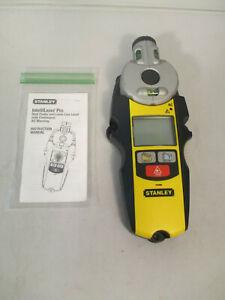 Stanley IntelliLaser Pro Laser Line Level Stud Finder 77-260 w/ Instructions