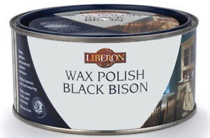 Liberon Black Bison Wax Polish Paste - All Sizes All Colours  Feeds and Polishes